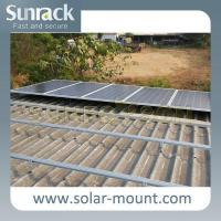 Buy cheap Tilted Metal Sheet Roof PV Mounting Systems from wholesalers