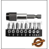 Buy cheap Power tools accessories 9pcs screwdriver bits set AKSD0071 from wholesalers