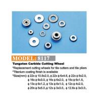 Buy cheap 8117 Tungsten carbide cutting wheel from wholesalers