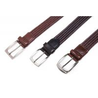 Buy cheap belts for men AF-234 Mens brown leather braided belts product