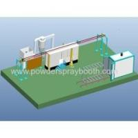 Buy cheap Powder Coating Lines Compact powder coating plant from wholesalers