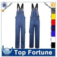 kneepad overall jean man,multi-pocketed overall uniform ,suspenders in USA