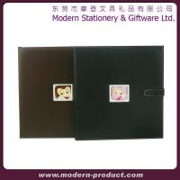 Buy cheap Leather boy photo album with die cut window from wholesalers
