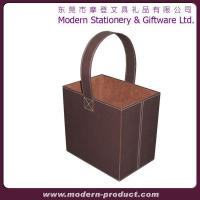 Buy cheap 2013 New design faux leather storage basket from wholesalers