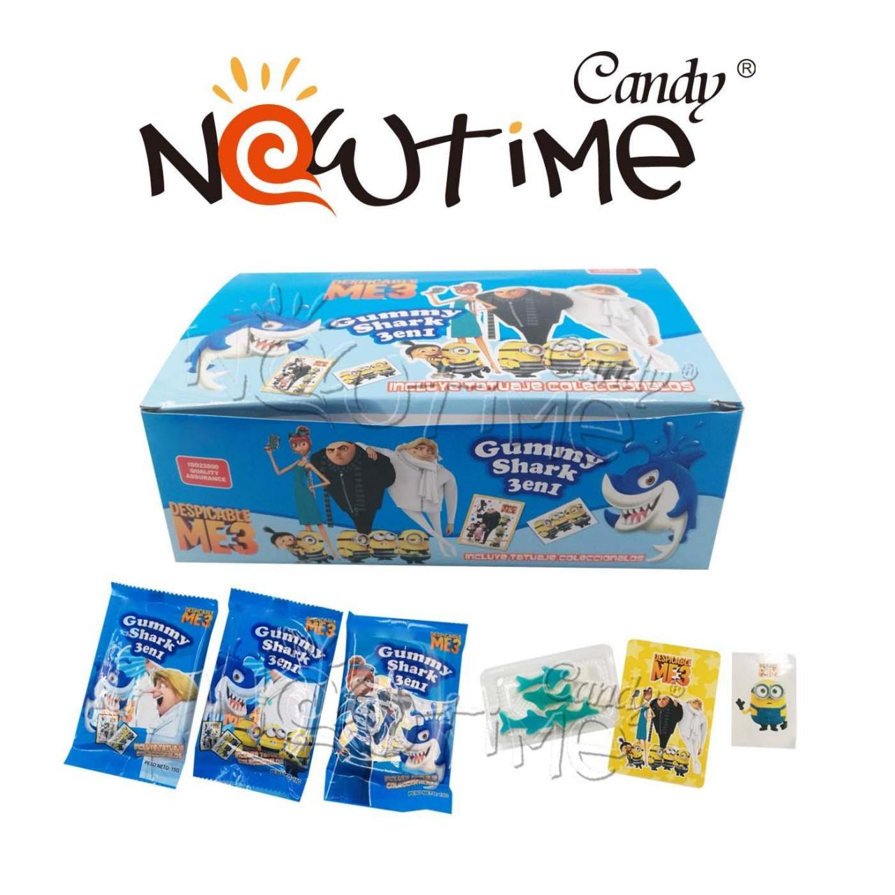 Buy cheap Jelly Candy NTJ18592 Gummy Shark with card and stickers from wholesalers