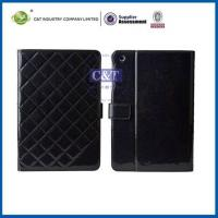 Buy cheap Ipad Mini 2 Cases C&T Leather flip stand cover for ipad mini 2 product