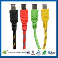 Buy cheap EAQ00013 Fabric Braided 3M 10FT Micro USB Sync Data Cable Charger Cord for Samsung Galaxy s4 product