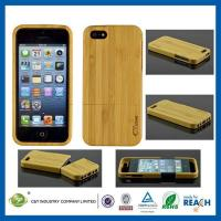 Buy cheap C&T Unique Handmade Natural Wood Wooden Hard bamboo Case Cover for iPhone 5/5S from wholesalers
