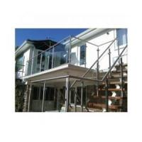 stainless steel glass handrail products for stair and balcony