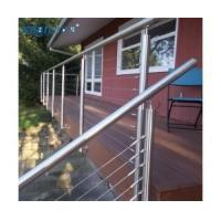 Buy cheap Fascia Mount Stainless Steel Cable Railing Balustrade Posts 36 from wholesalers