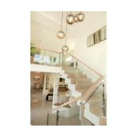 Buy cheap China manufacturer supply stainless steel frame glass balustrade glass railing from wholesalers