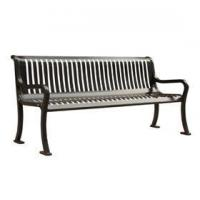 Buy cheap Metal Benches Products Name:Arlau FS50 Classic Outdoor Metal Steel Bench Designs from wholesalers