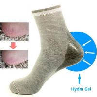 Buy cheap Ladies gel socks for heel protect,ladies moisturing socks,intarsia style with good quality from wholesalers