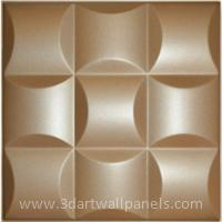 Buy cheap 3D Faux Leather Wall Panels HT-L-12 Leather Wall Tile Manufacturers from wholesalers