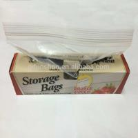 Food Grade Transparent Storage Zipper Bag