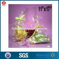 Buy cheap Clear Cello/cellophane Bags Gift Basket Packaging Bags Flat from wholesalers