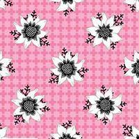 Buy cheap fabric fabric fabric Matilda - Flannel Flower in Pink from wholesalers