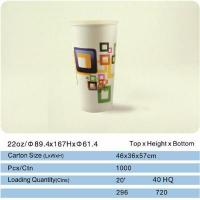 Buy cheap 1.Cold drink cup 22oz.Beverage cup from wholesalers