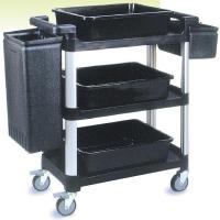 Buy cheap Utility / Service Carts 3 Shelf Service and Utility Cart SetYM-0168E、YM-0168F from wholesalers