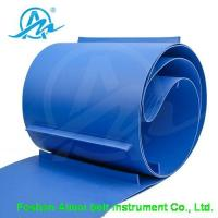 Buy cheap Conveyor belt Blue PU baffle belt product