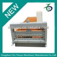Buy cheap Cangzhou corrugated roof deck machine from wholesalers