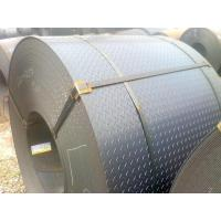 Buy cheap JIS G3101 SS400 Carbon and Low-alloy Checkered Tear Drop Pattern Steel Coil from wholesalers