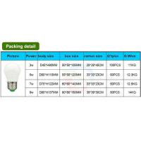 Buy cheap 3-9W Plastic led bulb light ,thermal conductive plastics outside and Aluminum inside from wholesalers