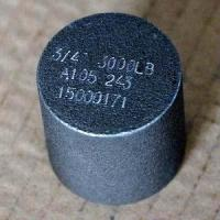 Buy cheap ASTM A105 Caps, DN20, PN400, ANSI B16.11, NPT to ANSI B1.20.1 from wholesalers