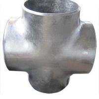 Buy cheap ASTM A234 WPB Pipe Cross, Butt Weld, DN250, SCH 40 product