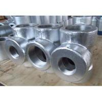 Buy cheap ASME B16.11 Galvanized Reducing Tee, ASTM A105, PN400, DN50 X DN80 from wholesalers
