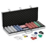 Buy cheap Fat Cat 500Ct Texas Hold'Em Dice Poker Chip Set from wholesalers