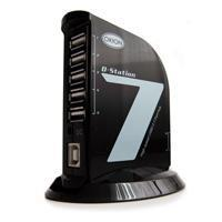 Cables & Hubs D-Station-[7] High speed USB2.0 7 Ports Desktop USB Hub