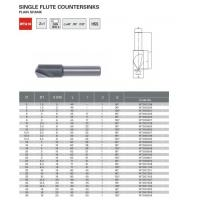 Buy cheap Countersinks Index Single Flute Countersinks WTA18 from wholesalers