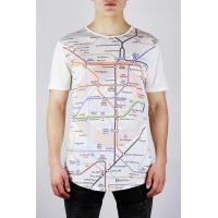 Buy cheap Elvis Jesus Mapped t-shirt with music themed London Underground print from wholesalers