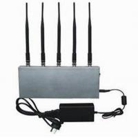 Buy cheap 5 Band Cell Phone Signal Blocker Jammer from wholesalers