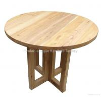 Buy cheap Dining Room Furniture Rustic Round Wood Dining Table Wholesale #6588 from wholesalers