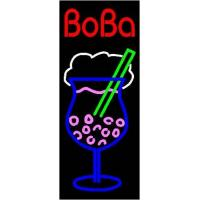 """Buy cheap Business Sign BobaBoba Dimensions: 13""""W x 32""""H x 3""""DPFB-006 product"""