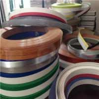 Buy cheap PVC/ABS/PP/PE/PMMA plastic edge banding for panel-type furniture from wholesalers