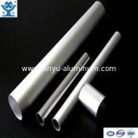 Mirrior polished thin wall aluminum tube with high quality