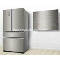 Brushed and Anodizing Aluminium Panel for Refrigerator Door Popular in Korea