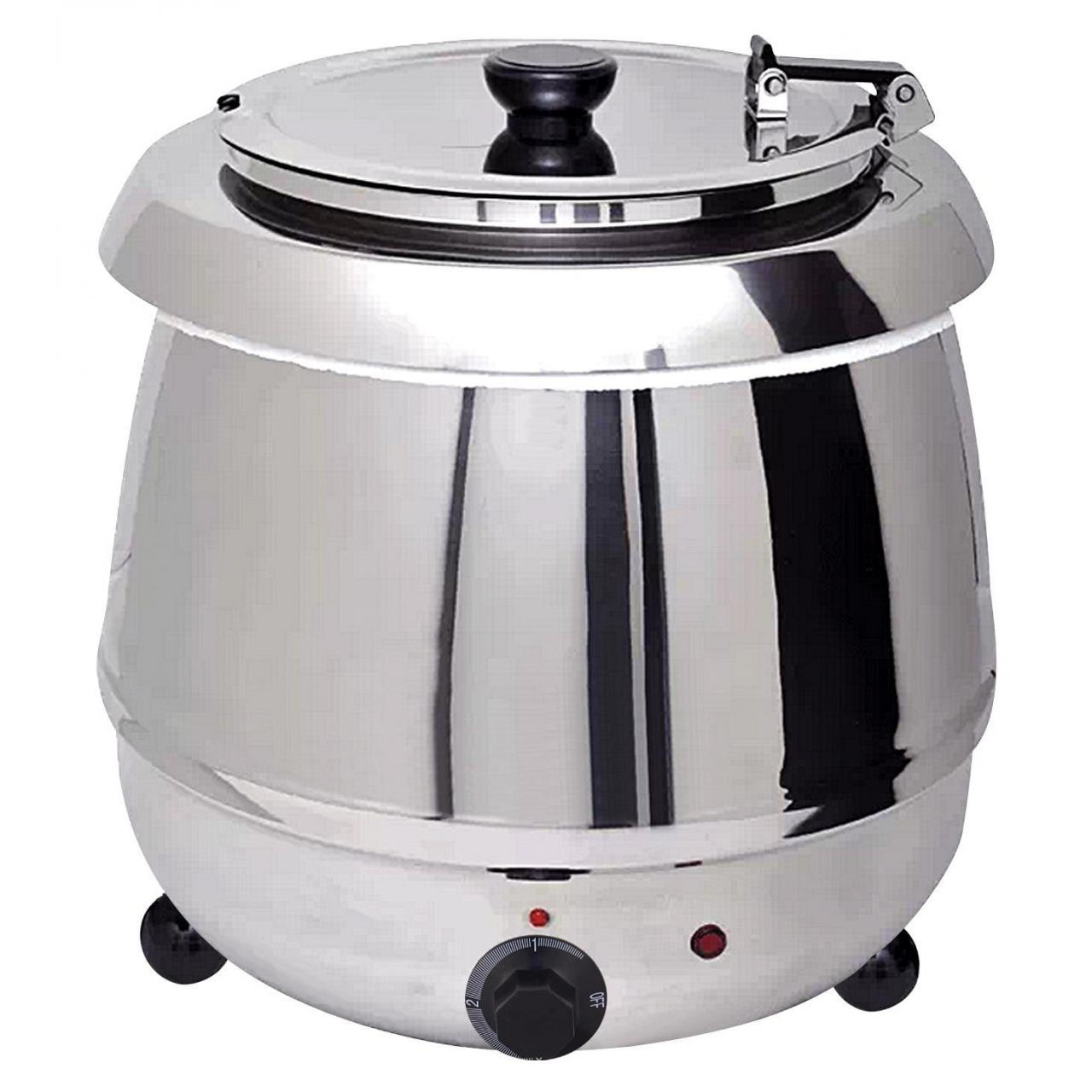 Buy cheap Soup Warmer 10L Silver Soup Kettle from wholesalers