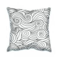 Buy cheap Comfortable 18 Inch Customized Cover Sofa Decorative Throw Pillow,Plain Cotton Throw Pillow Cover from wholesalers