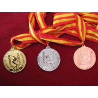 Buy cheap Medal & Medallion Metal Medal with Ribbon from wholesalers