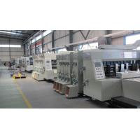 Buy cheap Corrugated Carton Box Manufacturing Plant-Carton Flexo Printer with Slotter from wholesalers