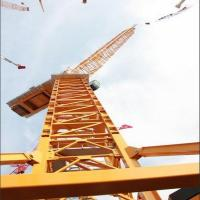 Buy cheap Luffing series Tower Crane China Shandong 8t QTZ150 (5015) luffing Crane from wholesalers