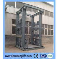 Buy cheap Guide-rail chain lift Hydraulic guide rail cargo lift from wholesalers