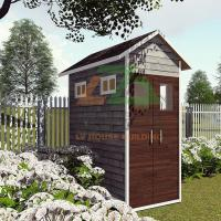 Buy cheap Sip Wooden Garden Green House for Vegetable and Flower Planting in Backyard from wholesalers