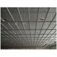 Steel grid plate suspended ceiling