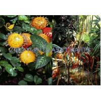 Buy cheap Chihuly Style Hand Made Glass Sculpture For Garden Decoration YJ-15 product