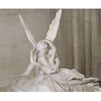 China Classical Cupid and Psyche famous marble sculpture on sale